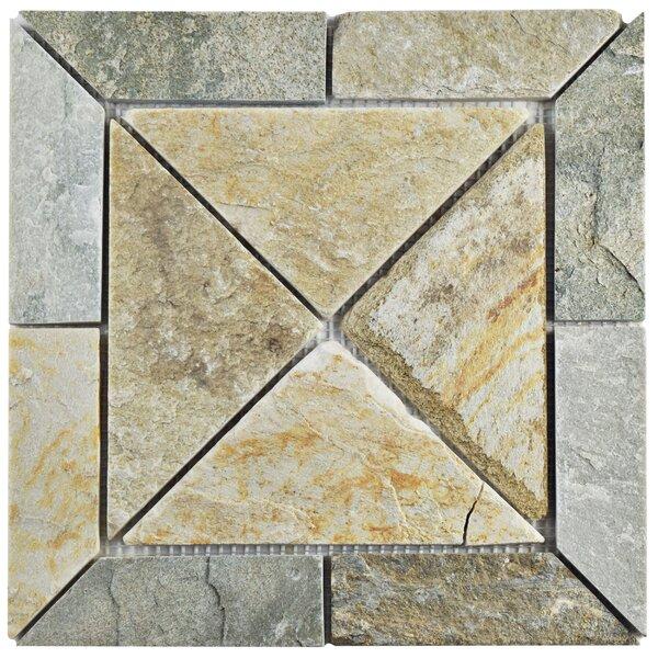 Peak Vintage Random Sized Slate Mosaic Tile in Arizona by EliteTile