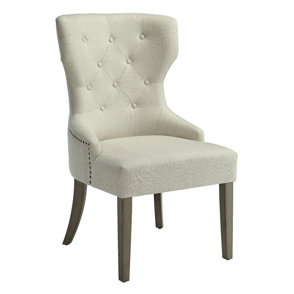 Idalou Wingback Chair by Ophelia & Co.