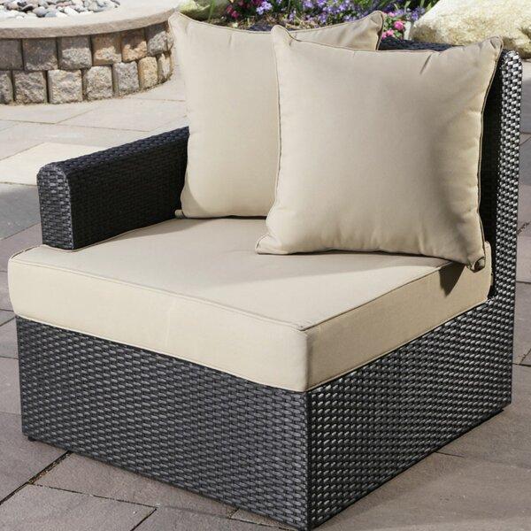Capri Left Arm Chair with Cushion by Madbury Road