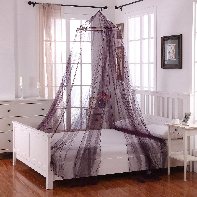Willa Arlo Interiors Laurencho Round Hoop Sheer Bed Canopy Net Reviews Wayfair