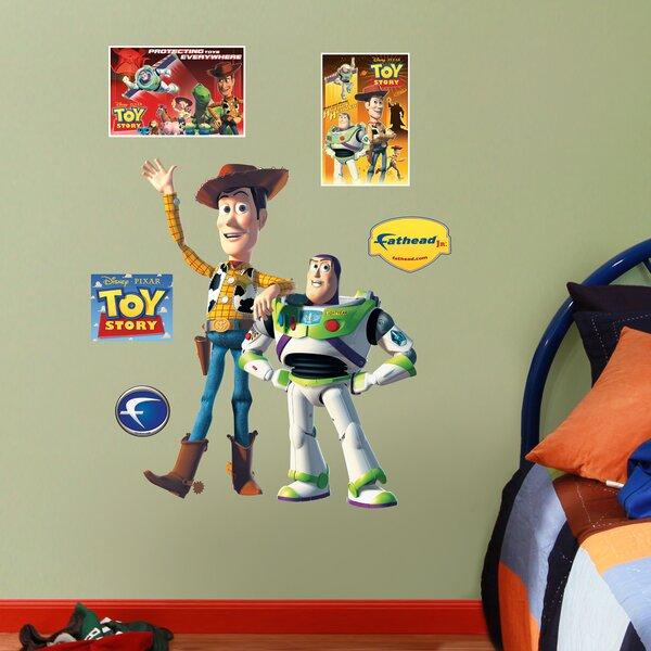 Disney Woody and Buzz Lightyear Wall Decal by Fathead