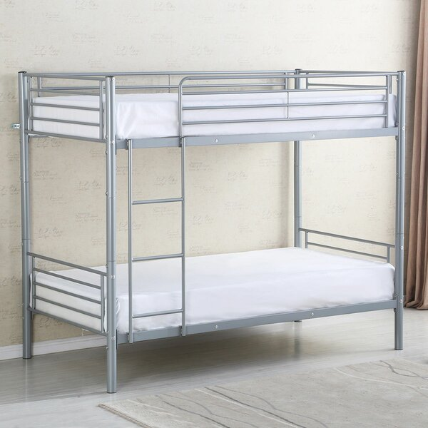 Milania Bunk Bed Frame Ladder by Harriet Bee