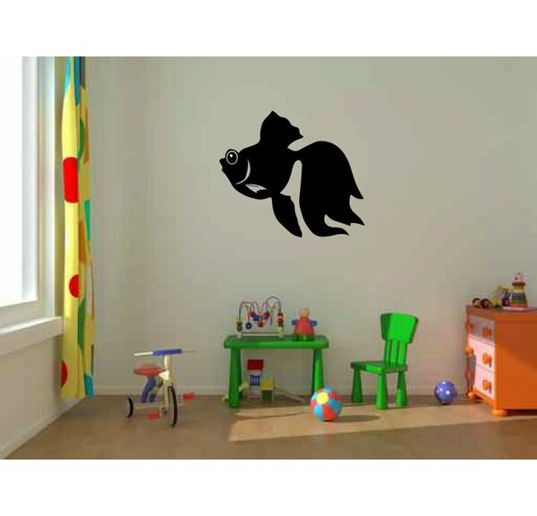 Huissen Large Goldfish Wall Decal by Zoomie Kids