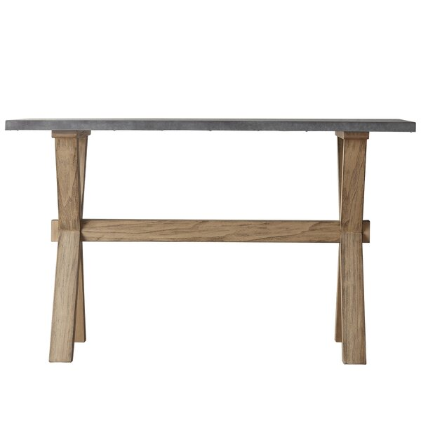 Review Peterson Industrial Console Table