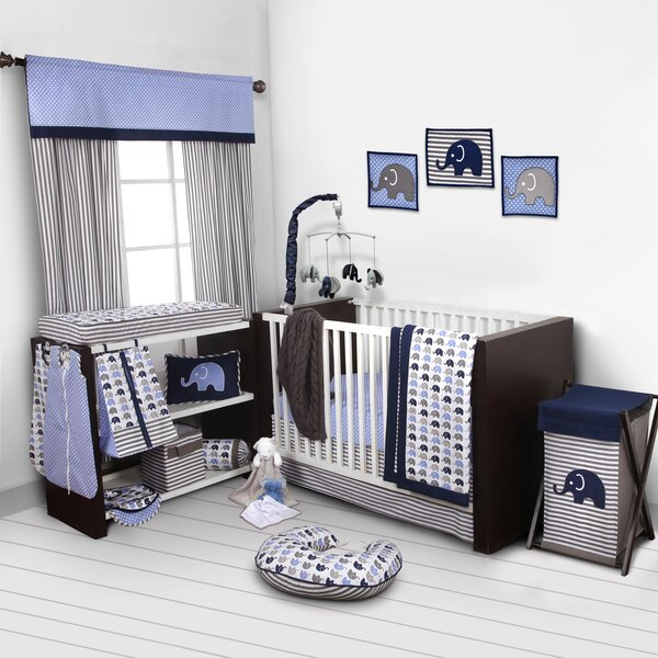 Yasmeen 10 Piece Crib Bedding Set by Viv + Rae
