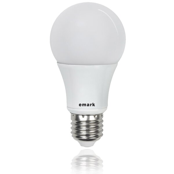 40W Equivalent E26 LED Standard Light Bulb (Set of 4) by emark