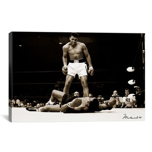 'Muhammad Ali Vs. Sonny Liston, 1965' Photographic Print by East Urban Home
