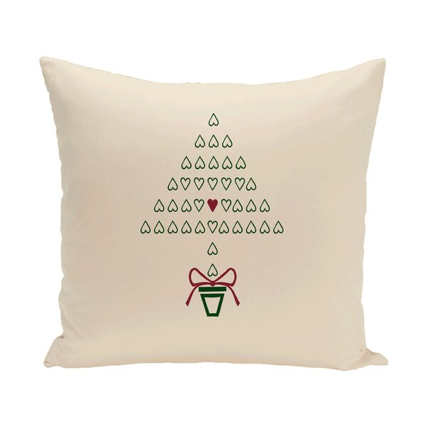 Hearty Holidays Decorative Holiday Print Throw Pillow by The Holiday Aisle