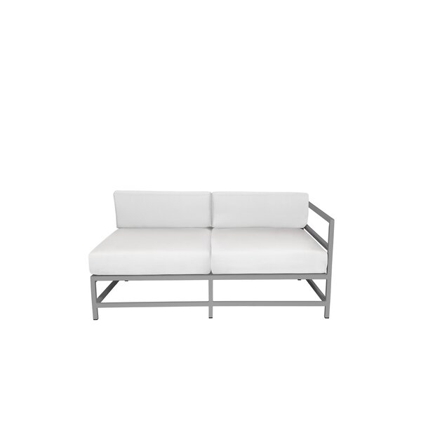 Ashlee Right Arm Loveseat with Cushions by Brayden Studio
