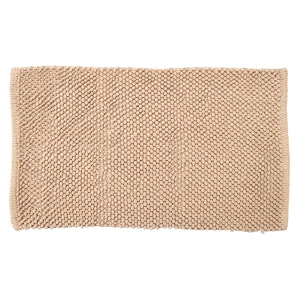 Stines Felt Ball Rectangle 100% Cotton Non-Slip Bath Rug