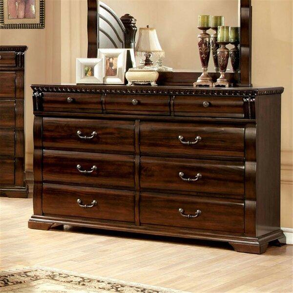 Richerson 9 Drawer Double Dresser by Astoria Grand