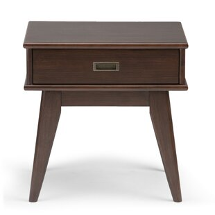 Draper End Table with Storage BySimpli Home