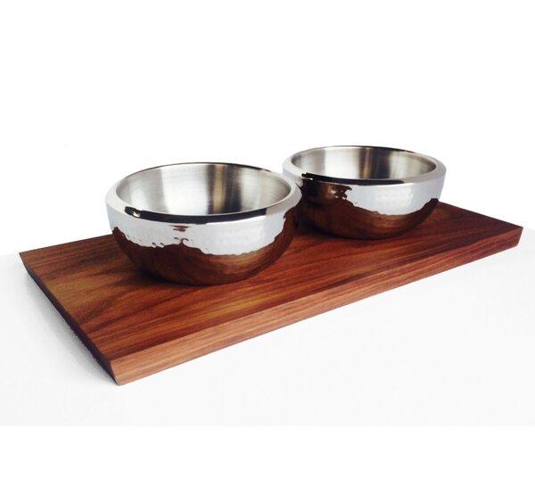 Ciocco 3 Piece Serving Bowl Set by NMN Designs