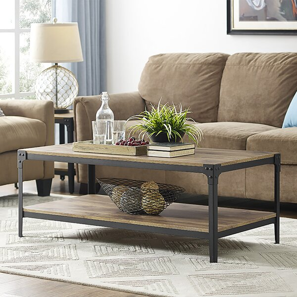 Loon Peak Arboleda Rustic Wood Coffee Table U0026 Reviews | Wayfair