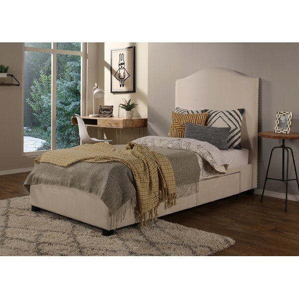 Ariane Twin Upholstered Storage Platform Bed by Darby Home Co
