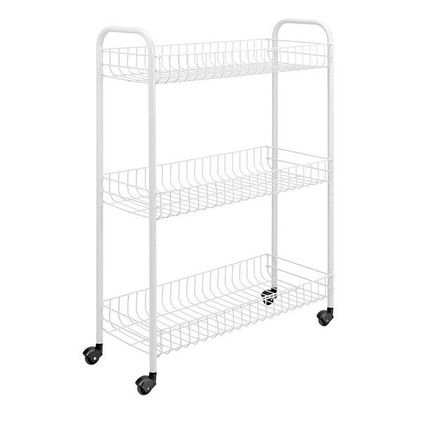 3 Tier Slim Utility Cart by Metaltex