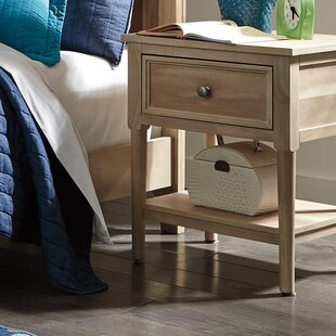 Today Only Sale Orlovista 1 Drawer Nightstand Rosecliff Heights