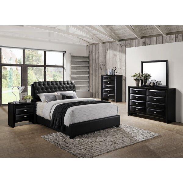 Plumwood Solid Wood 5 Piece Bedroom Set by Red Barrel Studio