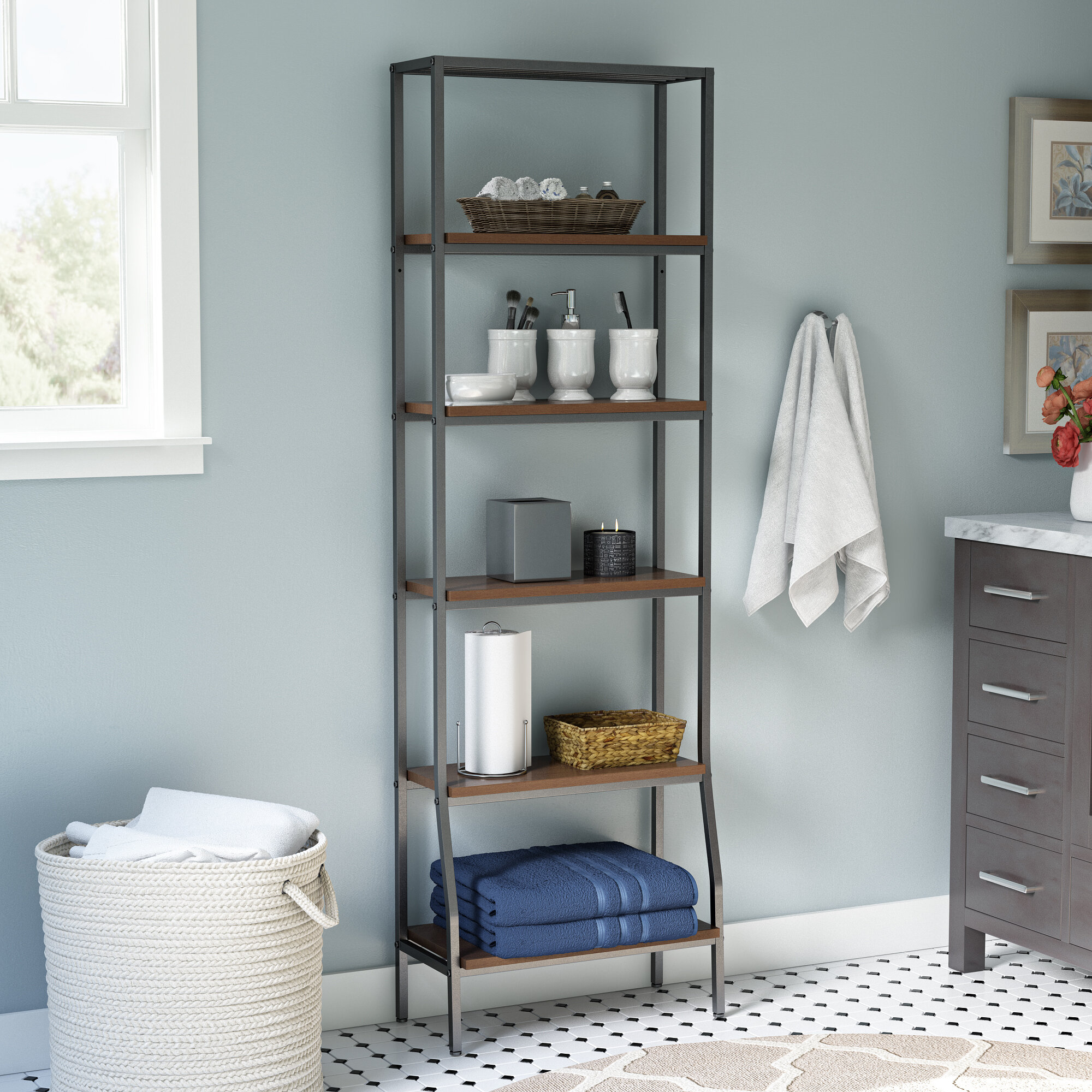 Darby Home Co Andes 6-Tier Etagere 21.75\