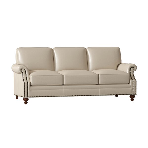 West Haven Leather Sofa By Bradington-Young