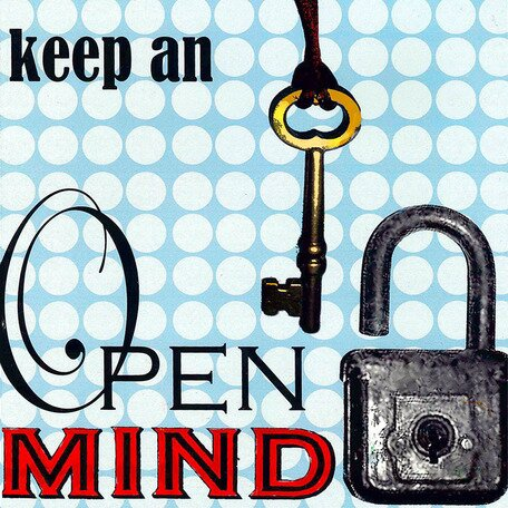Keep an Open Mind Canvas Art by Oopsy Daisy