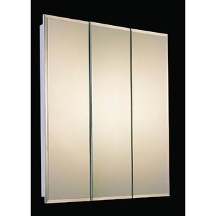 Affordable Zander 30 x 30 Recessed Beveled Edge Medicine Cabinet By Ebern Designs