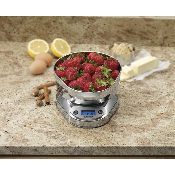 PrecisionChef™ Bowl Kitchen Scale Digital by Cuisinart