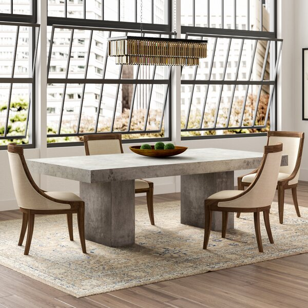 Clinchport Contemporary 5 Piece Dining Set by Greyleigh