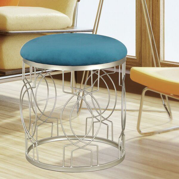 Luxury Vanity Stool by Adeco Trading