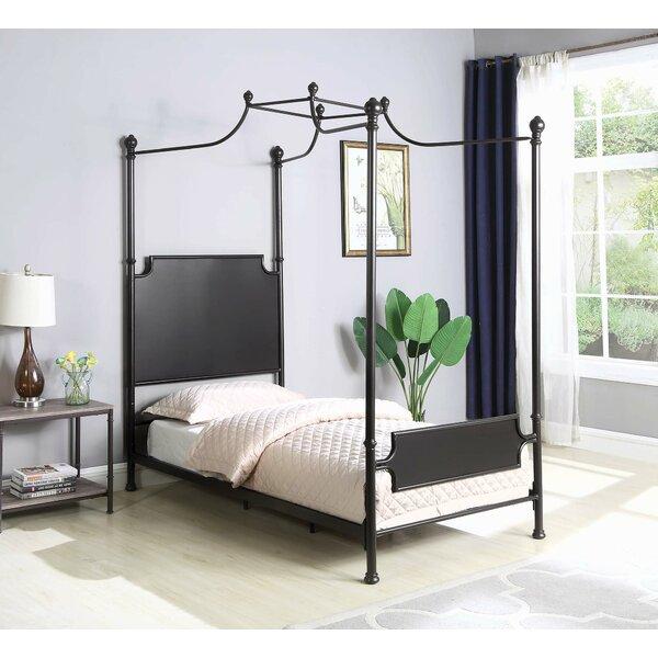 Stewartville Twin Canopy Bed by Gracie Oaks