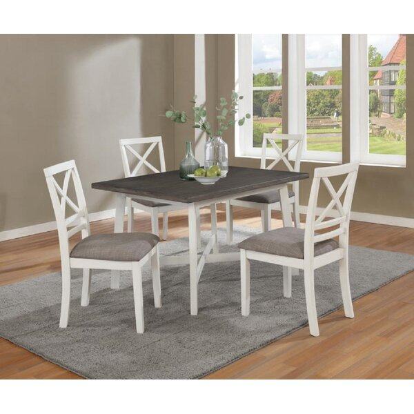 Grandmasters 5 Piece Dining Set by Rosecliff Heights Rosecliff Heights