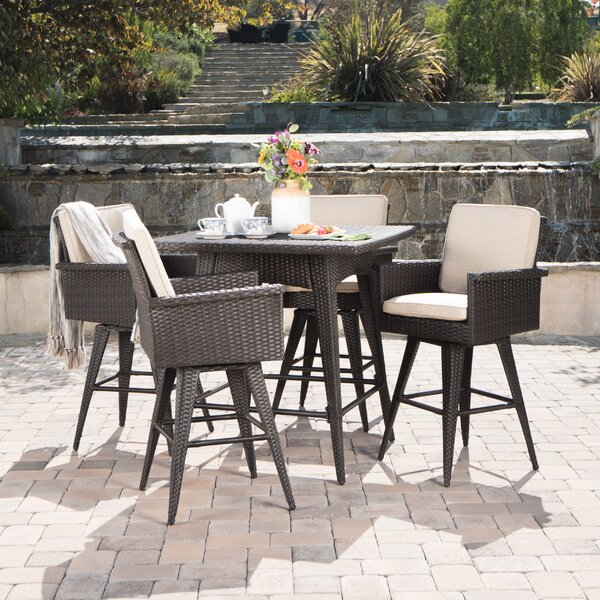 Beech Hill 5 Piece Dining Set with Cushions by Brayden Studio