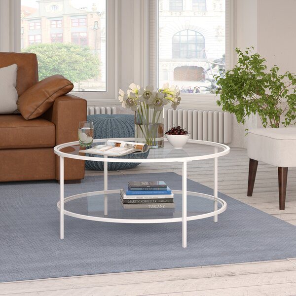 Magdalen Coffee Table With Storage By Andover Mills