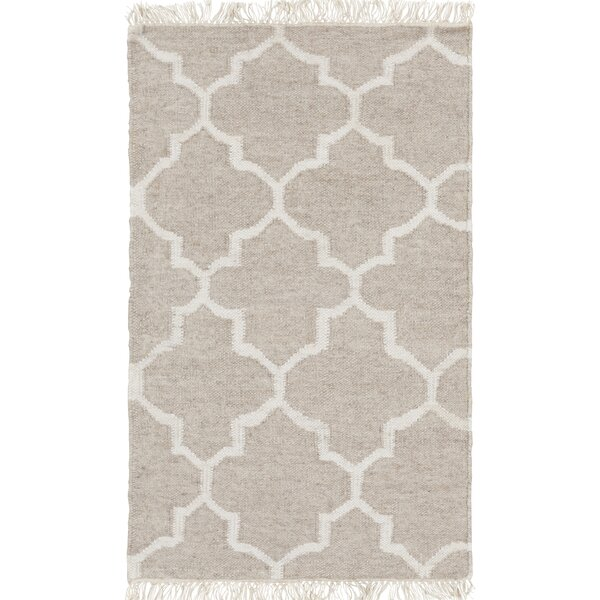 Palladio Hand-Woven Gray Area Rug by Darby Home Co
