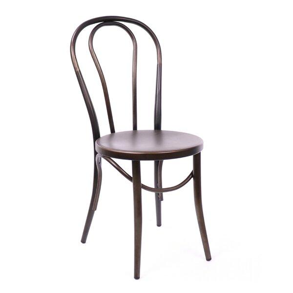 Belmont Metal Windsor Back Side Chair In Rustic Matte (Set Of 2) By Design Lab MN