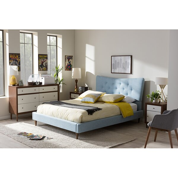 Berard Upholstered Platform Bed by George Oliver