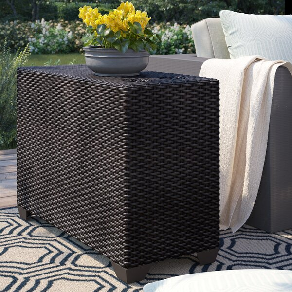 Tegan Wicker Side Table by Sol 72 Outdoor