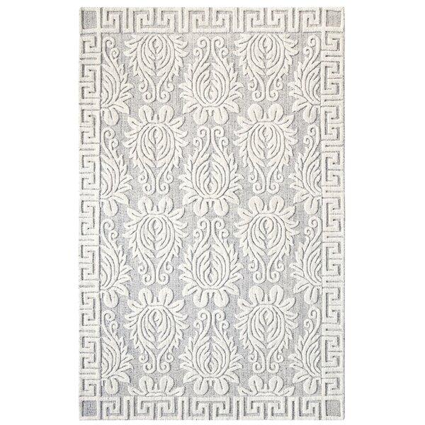Savoy Hand-Woven Ivory/Gray Area Rug by CompanyC