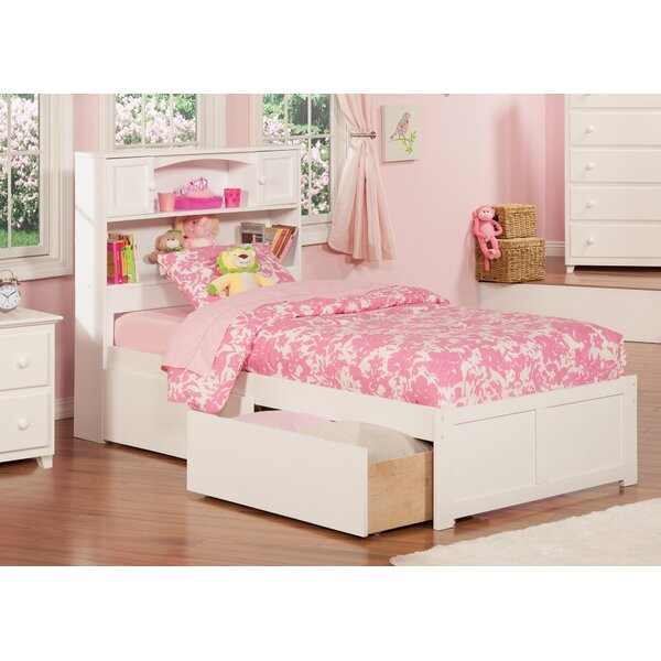 Rottman Extra Long Twin Platform Bed with Storage by Harriet Bee