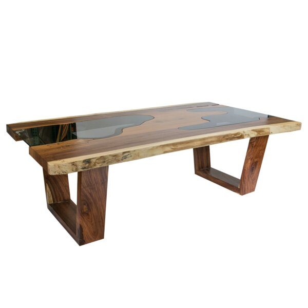 Schechner Solid Wood Dining Table by Union Rustic