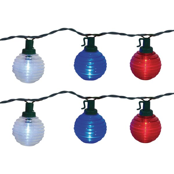Globe 10 Light String Lights by The Holiday Aisle