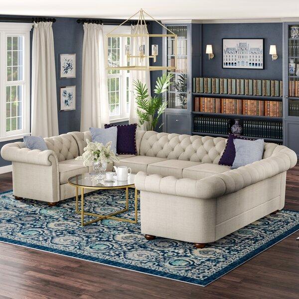 Home & Garden Gowans Symmetrical Sectional Collection