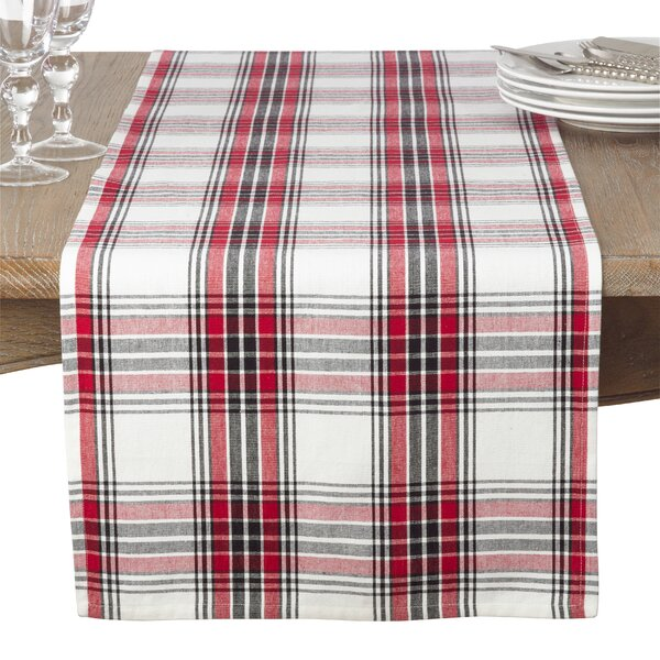 Guifford Plaid Table Runner by Alcott Hill