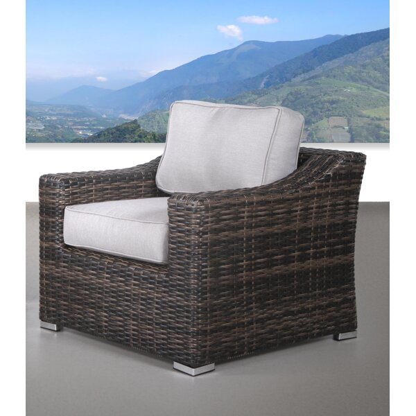 Laurene Club Patio Chair with Cushions by Ivy Bronx Ivy Bronx