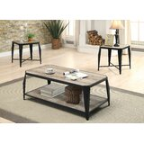 Mullenax 3 Piece Coffee Table Set by Gracie Oaks