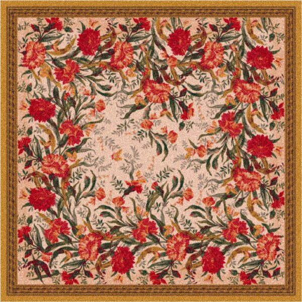 Pastiche Barrington Court Floral Curry Rug by Milliken