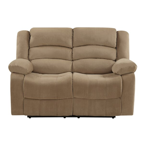 New High-quality Updegraff Reclining Loveseat by Winston Porter by Winston Porter