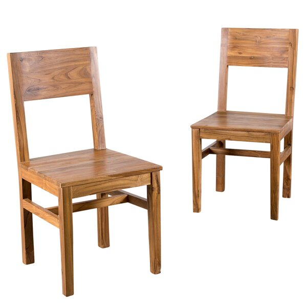 Hagerman Solid Wood Dining Chair (Set of 2) by Wildon Home ®