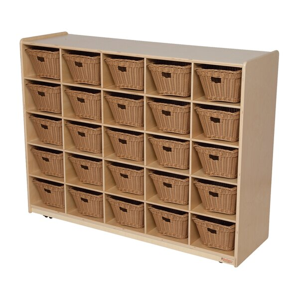 Natural Environment 25 Compartment Cubby by Wood Designs