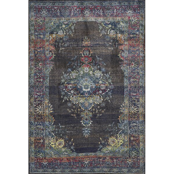 Cruise Charcoal Area Rug by Bungalow Rose